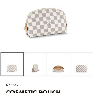 Louis Vuitton Monogram Cosmetic Pouch Brand New